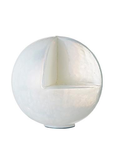 Warm Design Cam Mumluk Beyaz